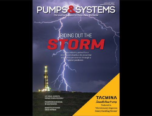 Tacmina Featured in Pumps & Systems Magazine
